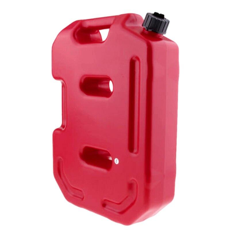 10L jerrycans en plastique gaz Diesel essence réservoir de carburant conteneurs d'huile bidon de gaz essence montage voiture moto accessoires de rechange