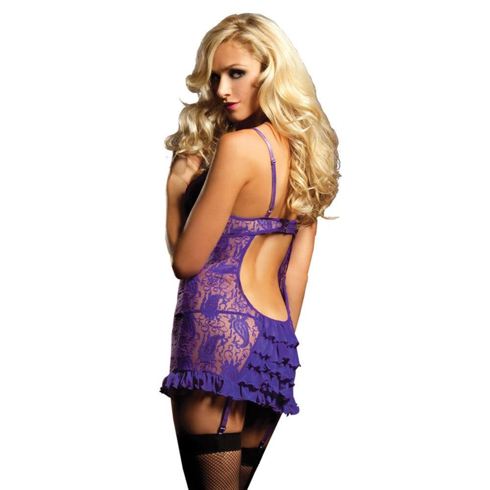 XXXL 4XL 5XL 6XL sexy lingerie plus size women's erotic underwear large sizes babydoll nuisette porn costumes lace lingerie 3