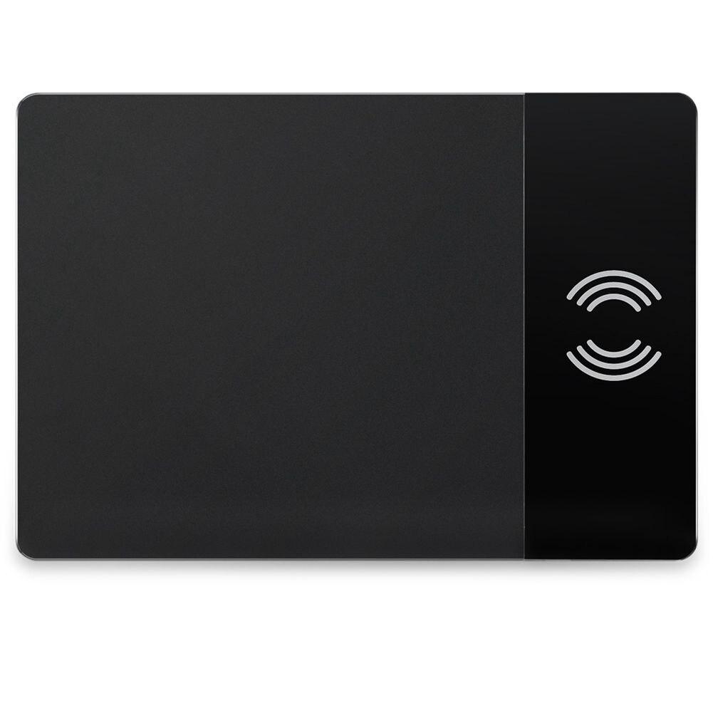 Motospeed P91 Sans Fil Charge Souris D'ordinateur Pad Qi Tapis de Souris Sans Fil de Charge Pour Charger téléphone portable