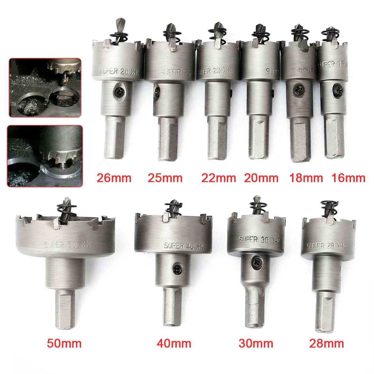 30-120mm Carbide Wall Hammer Drill Bit Hole Cutter Saw Wall Hole Cutter TCT Bit