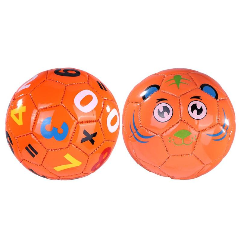 Size 2 Recyclable Safety Soccer Ball Children Kids Football Learning Sports Intellectual Toy With Net Bag+Air Needle