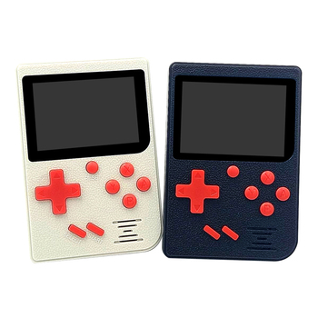 Mini Console Portable Game Console 2.4in LCD 8 bit Handheld Game Player Video Console Built-in 129 Retro Games