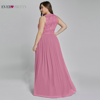 Mother Of The Groom Dresses Plus Size Ever Pretty Elegant A Line O Neck Beaded Lace Long Formal Party Gowns For Wedding 2020 4