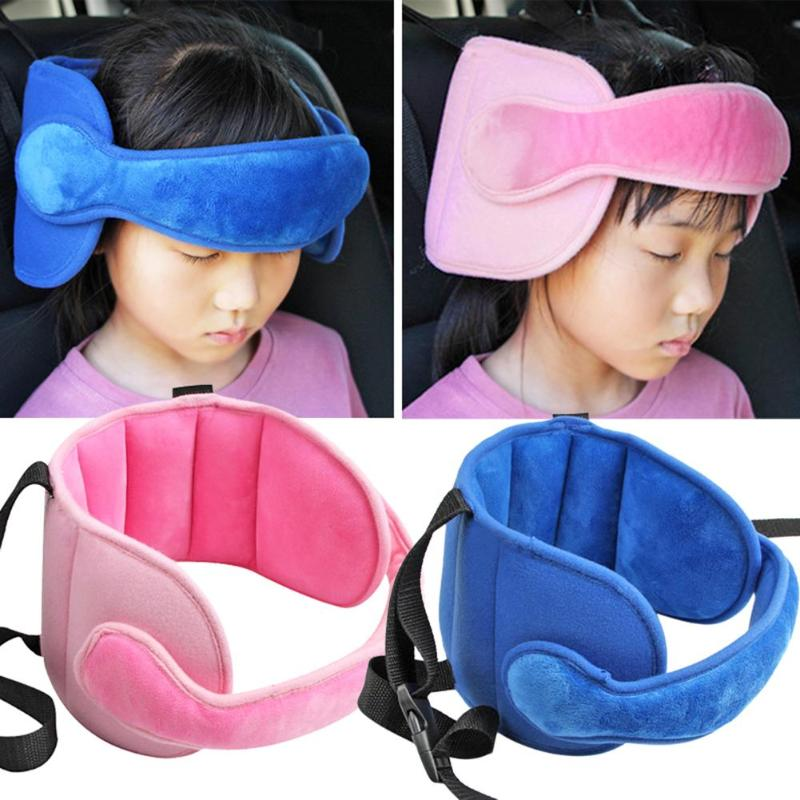 Child Car Seat Head Supports Baby Head Fixed Sleeping Pillow Kid Neck Protection Safety Playpen Headrest Adjustable Support Pad