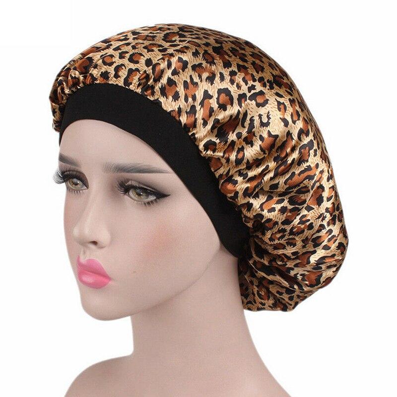 2019 Women Hair Care Night Sleep Hats Satin Flower Bonnet Cap Beanies Silk Caps Head Wrap Ladies Skullies Fashion New Hot Sale