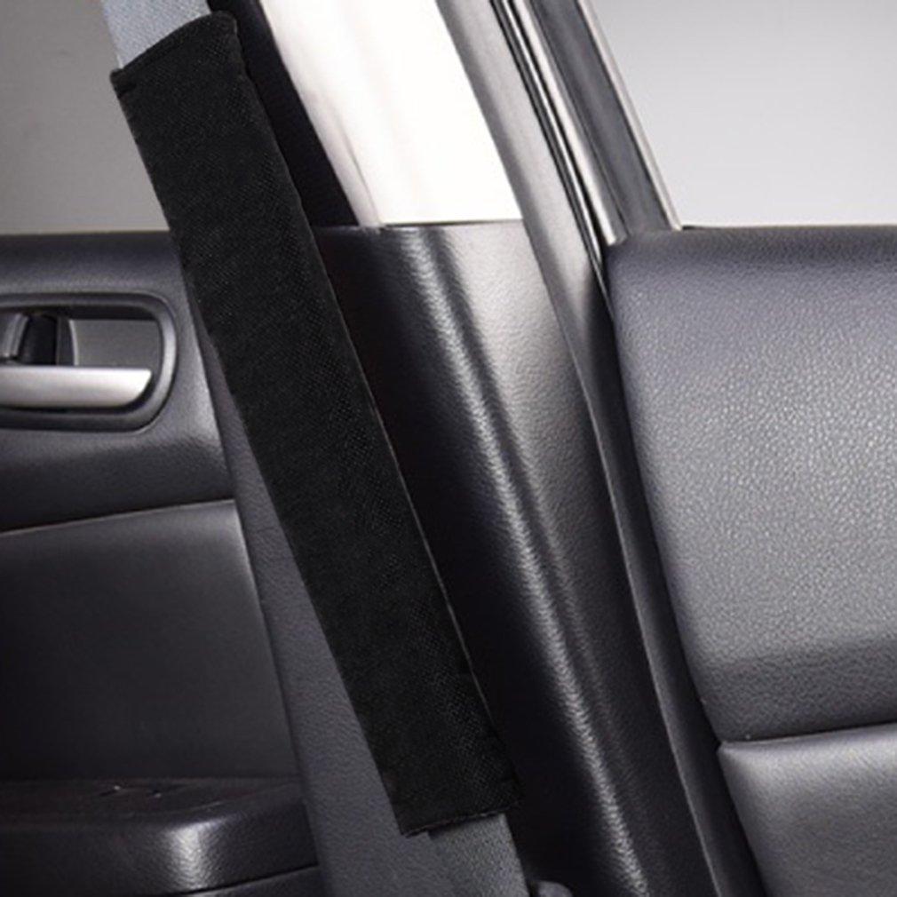 Seat Belt Shoulder pad 2Pcs Car Comfortable Safety Seat Belt Shoulder Pads Cover Soft Cushion Harness Pad Truck Strap Cover Automotive Accessories
