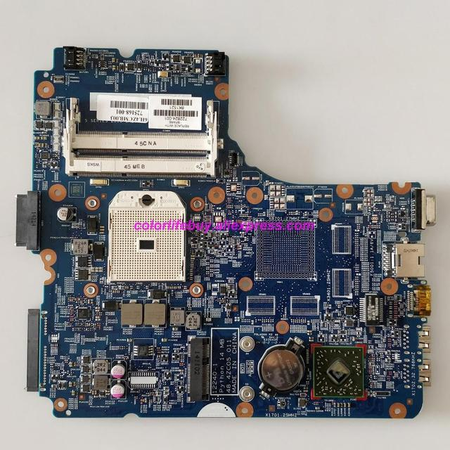 Véritable 722824 001 722824 501 722824 601 12240 1 48.4ZC05.011 UMA carte mère dordinateur portable carte mère pour HP ProBook 445 G1 ordinateur portable