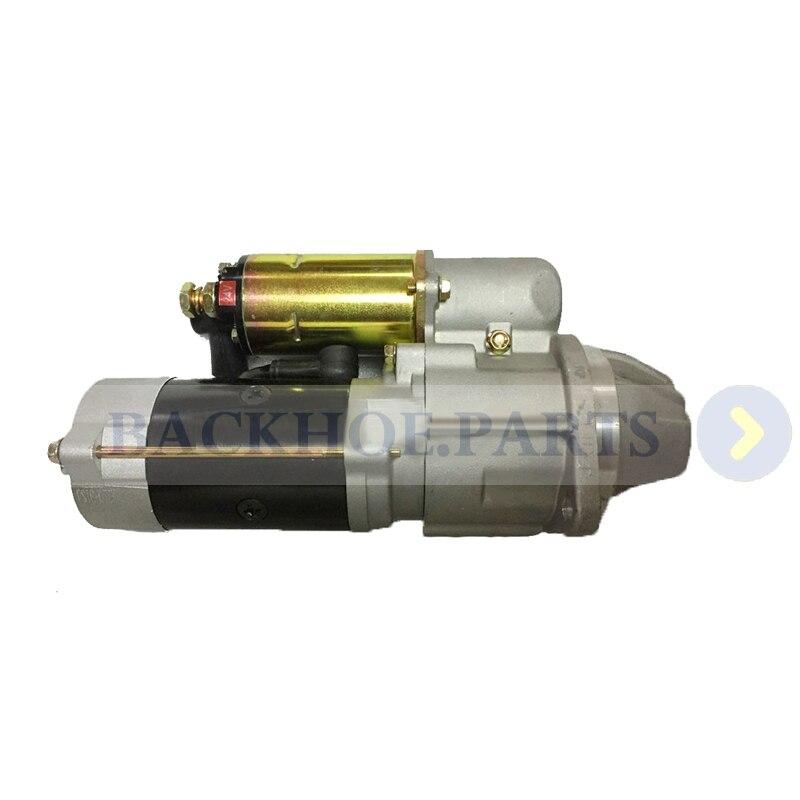 Starter Motor 600-813-4411 600-813-4410 for Komatsu Excavator PC60-6S PC60-6C PC60-6Z PC60L-6 Engine 4D95