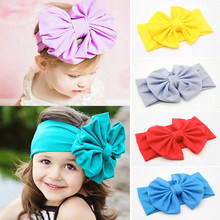 Adorable Baby Headband Velvet Bow Flower Hair Bands For Girls Headbands Elastic Hairbands Kids Headbands Girls Hair Accessories(China)