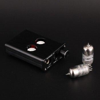 M11 Mini HIFI 6J9 Vacuum tube Professional Headphone Amplifier Audio Preamplifier With PC USB  DAC PCM2704 7022 16bit/24bit