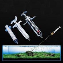 Инжектор жидкостной шприц для аквариумных растений 30 см 50 см для травы