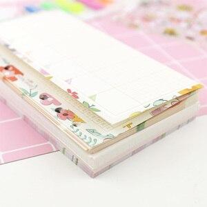 Image 5 - MyPretties 144 arkuszy kwiatowy wkłady pakiet A5 A6 do napełniania papiery do 6 Hole spoiwa organizer papiery 2019 Planner