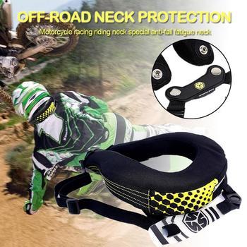Off-road szyi straży samochód motocyklowy wyścigowy jazda szyi straży specjalne zabezpieczenie przed upadkiem zmęczenie szyi tanie i dobre opinie Unisex Kombinacje Neck Guard