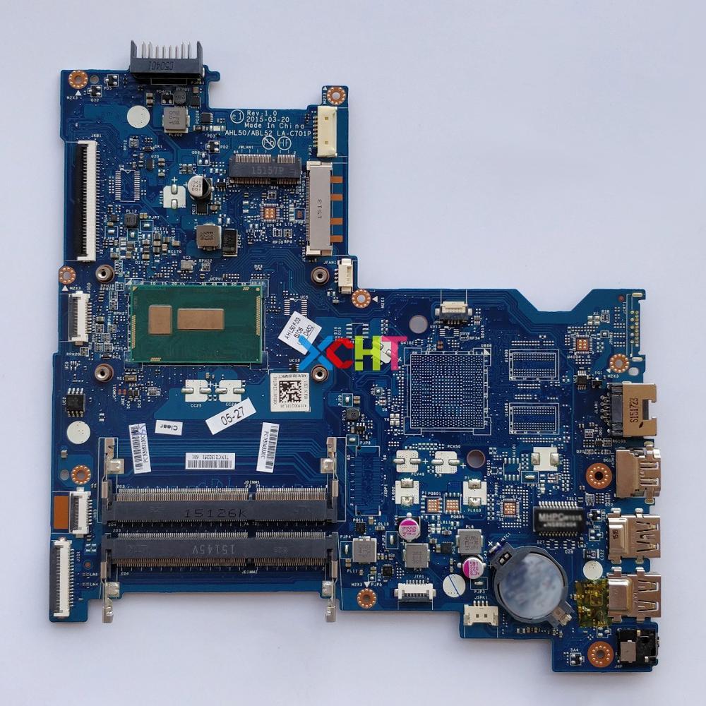 815246-601 815246-501 815246-001 UMA w i7-5500U AHL50/ABL52 LA-C701P for HP NoteBook 15T-AC000 15-ac118la Laptop PC Motherboard815246-601 815246-501 815246-001 UMA w i7-5500U AHL50/ABL52 LA-C701P for HP NoteBook 15T-AC000 15-ac118la Laptop PC Motherboard