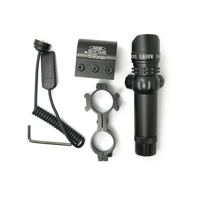 Scope 808 100 GD, 808nm, 100mw, infrarrojo, IR, punto, mira láser, mira para Rifle