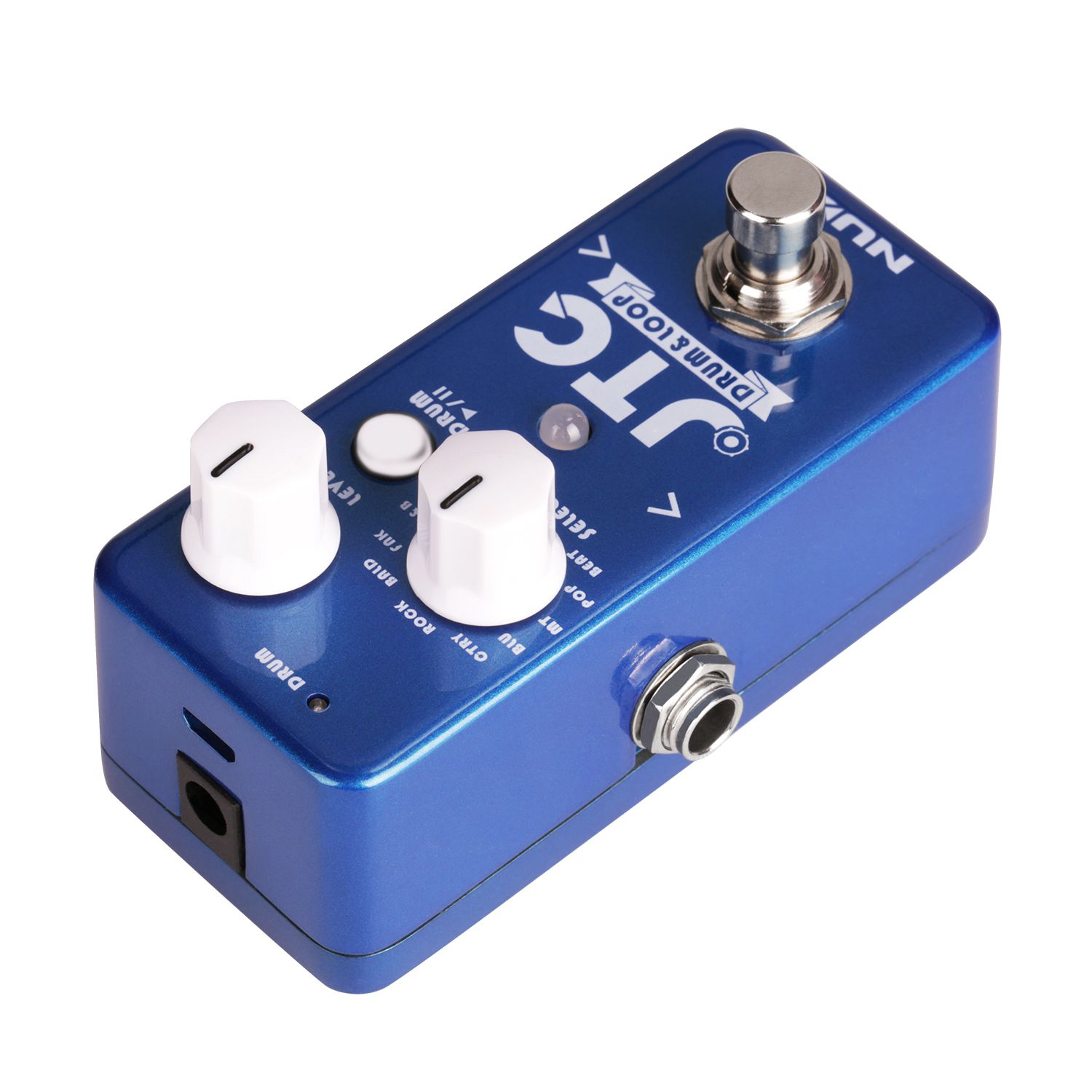 NUX NDL-2 JTC Drum Loop Guitar Effect Pedal Looper 6 Minutes Recording Time 10 Drum Rhythms Smart Tap Tempo Drum MachineNUX NDL-2 JTC Drum Loop Guitar Effect Pedal Looper 6 Minutes Recording Time 10 Drum Rhythms Smart Tap Tempo Drum Machine