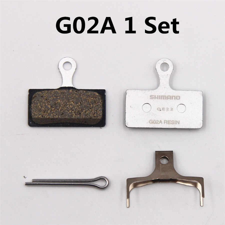 SHIMANO G02A G02S Pads DEORE XT DEORE SLX G03A G03S Resina Pastilha De Freio Montanha M785 M675 M7000 M8000 M9000 M6000 m9020 Pastilha De Freio