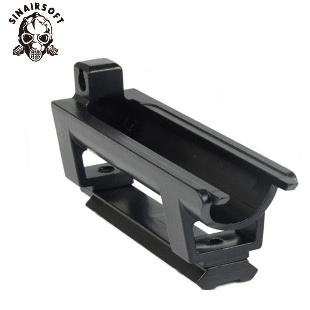 Barska Scope SKS Rifle Mount Base Waever 20mm Rail, Replaces Rear Receiver Cover With Gift Scope See-thru Rings Free Shipping
