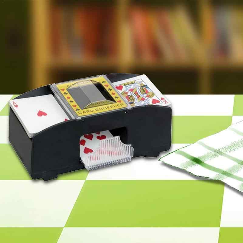 Машина для тасовки карт автоматический покер тасующий карты игрок игры шафл-машинка Подарок Смешная Семейная Игра Клубная принадлежность 1 шт