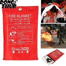 1MX1M Fire Blanket Emergency Survival Fire Shelter Safety Protector Fire Extinguishers Tent