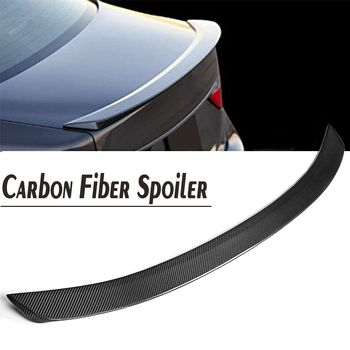 Carbon Fiber Material F Sport Style Rear Trunk Wing Spoiler Lid Fit For Lexus GS350 GS450H 2013 2014 2015 2016 2017
