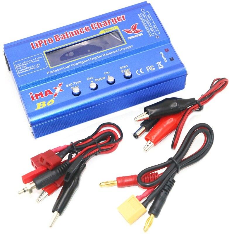 Ue Plug 80 W Imax B6 Lipo Batterie Numérique chargeur de balance Avec 12 V 5A alimentation