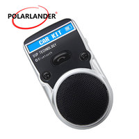 Free Adapter AUX Receiver Wireless For Cigarette Lighter USB LCD Display Handsfree Speakerphone Solar Power Bluetooth Car Kit