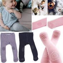 Pudcoco популярные милые носочки для малышей хлопковые колготки младенец, девочка, малыш новорожденных теплая детская одежда из мягкой ткани; эластичные штаны розового и голубого цвета