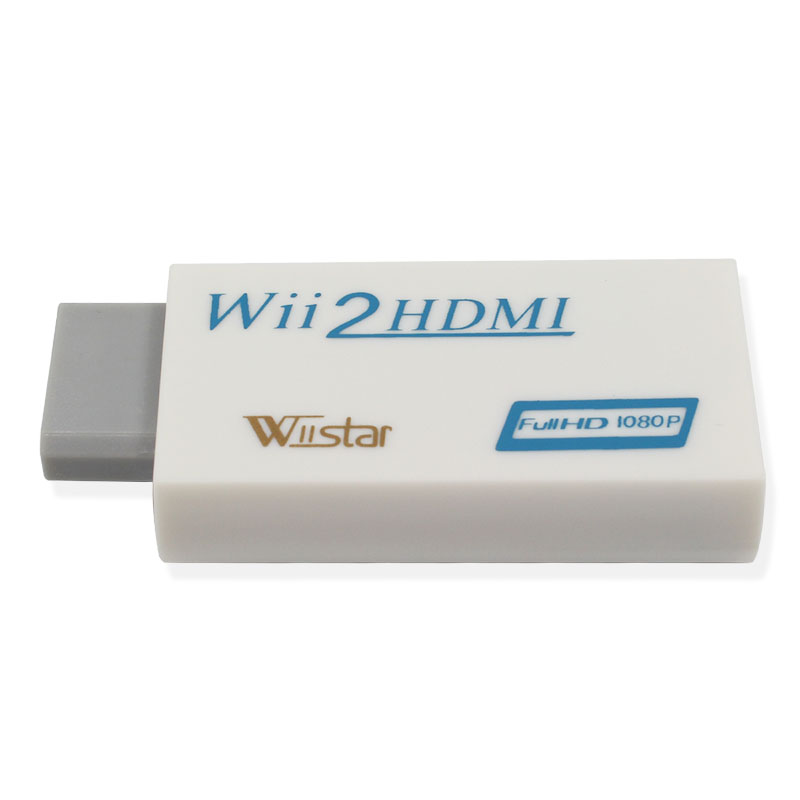 Wiistar Wii To HDMI Adapter Converter Support FullHD 720P 1080P 3.5mm Audio For HDTV Monitor Display Wii2HDMI