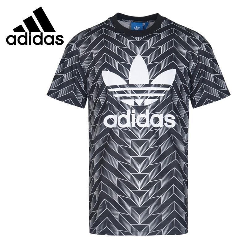 a4a4013145c94 US $55.68 52% OFF|Adidas Originals AOP TEE Clover Sports Casual Men's Short  sleeved T shirt Men's Sport T shirt Short Sleeve Sportswear #BS4965-in ...