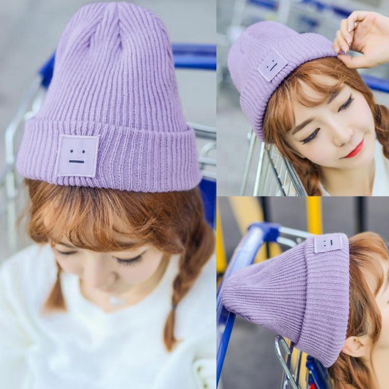 Warm Winter Knitted Ski   Beanie   Caps 2019 Fashion Autumn Women Men   Beanie     Skullies   Ball Wool Cuff Hat Ski Cap Casual Soft Hats