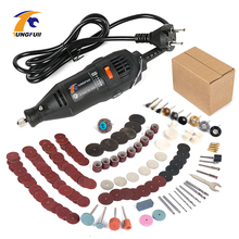TUNGFULL Engraver 30000rpm 220V Tool Engraver Electric With Dremel Accessories Woodworking Tools Mini Drill Dremel Cutting Disc tungfull electric drill 220v engraver rotary tool polishing engraving drilling cutting rotary tool engraver woodworking