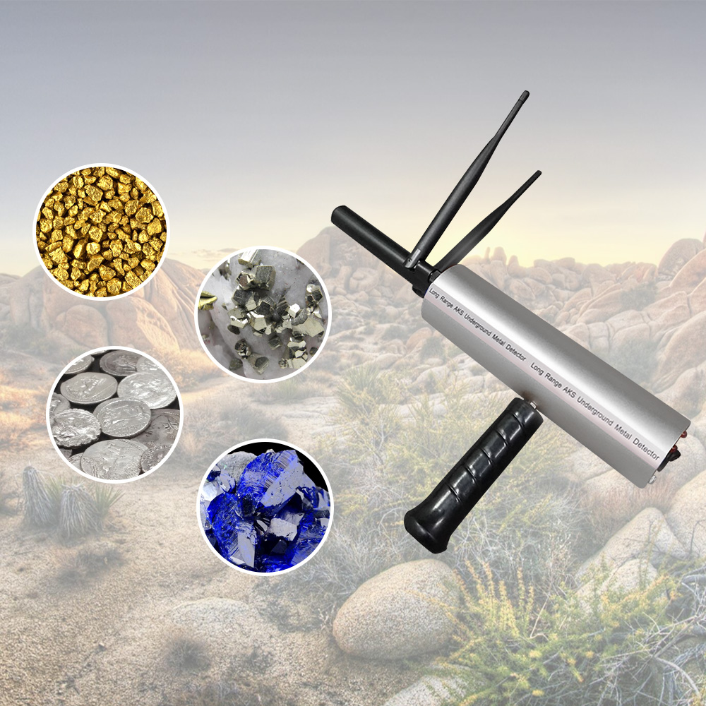 3d Underground Metal Detector Treasure Hunter Finder Goud Zilver Koper Scanner Edelstenen Tracker Seeker Eu Plug