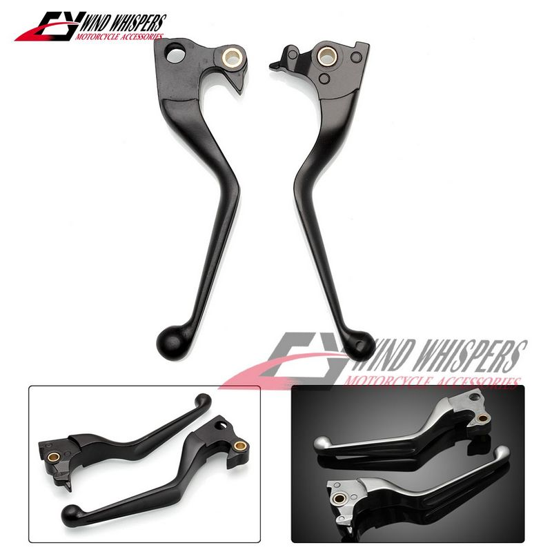 Motorcycle brake clutch lever Left Right Levers For Harley Sportster XL883 XL1200 XL 883 1200 2014