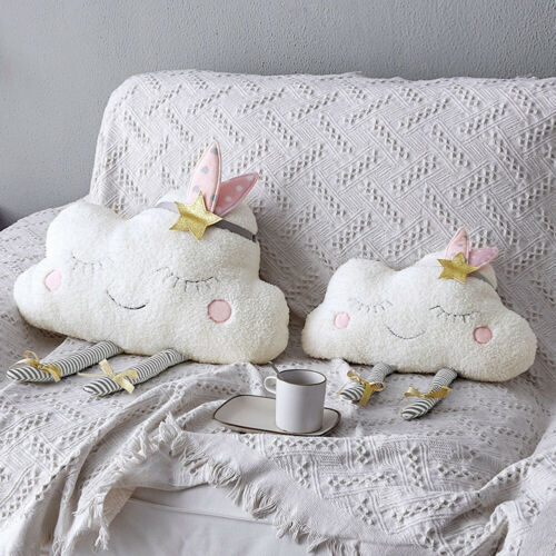 2019 New Arrival Creative Cloud Shaped Plush Stuffed Pillow Bed Cushion Toys Home Sofa Car Decor Wholesale Dropshipping Pudcoco