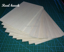 AAA+ Balsa Wood Sheets 150x100x1mm Model for DIY RC model wooden plane boat material
