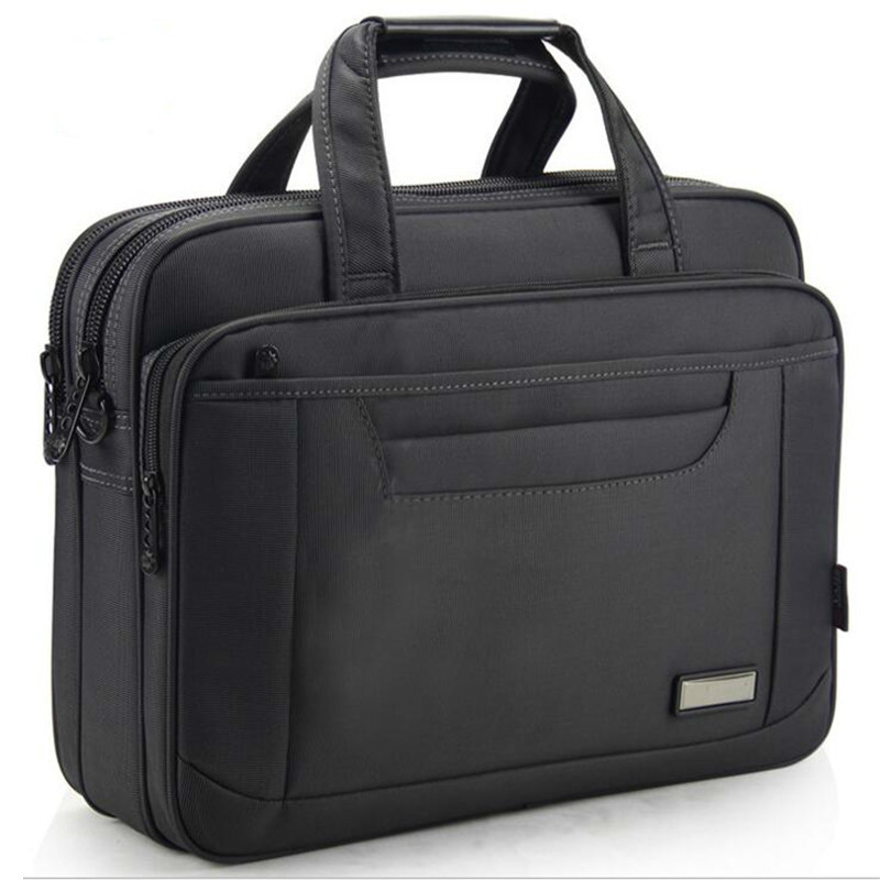 OYIXINGER 2019 Briefcase Lawyer Men Computer Hand Bags Luxury Brand Mens Business Bag Oxford Waterproof Office Work For Maletas