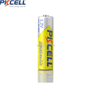 Image 4 - 4 قطعة بطاريات PKCELL AA 1.2 فولت 2300 مللي أمبير 2600 مللي أمبير AA ni mh بطاريات بطارية قابلة للشحن aa batteria و 1 قطعة بطارية عقد