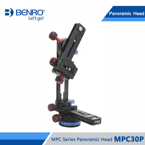 Image 4 - Benro MPC30P głowica panoramiczna przez trzy Dimentional fotografowanie panoramiczne aluminium Benro serii MPC głowica panoramiczna DHL darmowa wysyłka
