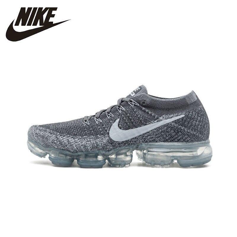 NIKE Air steam Max Flyknit Original chaussures de course pour hommes confortable stabilité baskets chaussures de sport de plein Air #849558-002