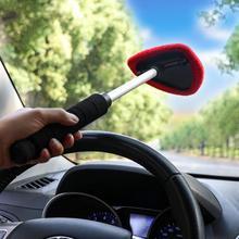 Автомобильный очиститель ветрового стекла Щетка стеклоочистителя телескопическая ручка авто стеклоочиститель мягкое полотенце щетка противоскользящая уход за автомобилем чистящие средства