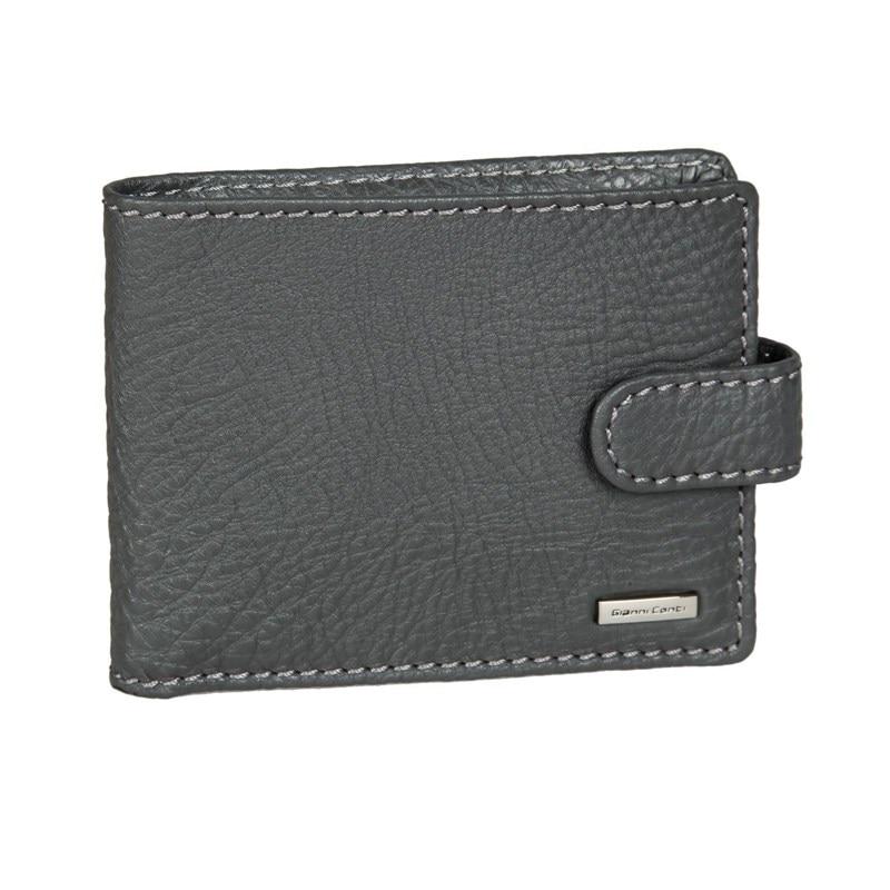 Coin Purse Gianni Conti 9517218 dark gray brand passport women wallets case travel leather wallet female key coin purse wallet women card holder wristlet money bag small