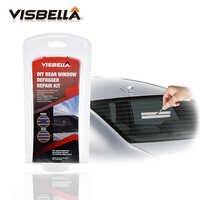 VISBELLA bricolage Kit de réparation de désembueur de fenêtre arrière pour les rayures de voiture
