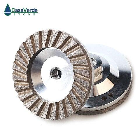 Diâmetro da Caixa Rodas para Pedra de Moagem Dc-acw Pces 4 Polegada Alumínio Backer Diamante Moagem 1 – 100mm