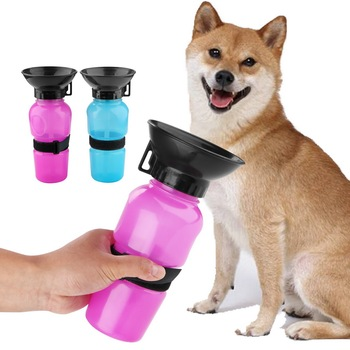 dog-drinking-water-bottle-pet-puppy-cat-feeder-squeeze-dispenser-500ml-travel-outdoor-water-cans-portable-cat-accessories