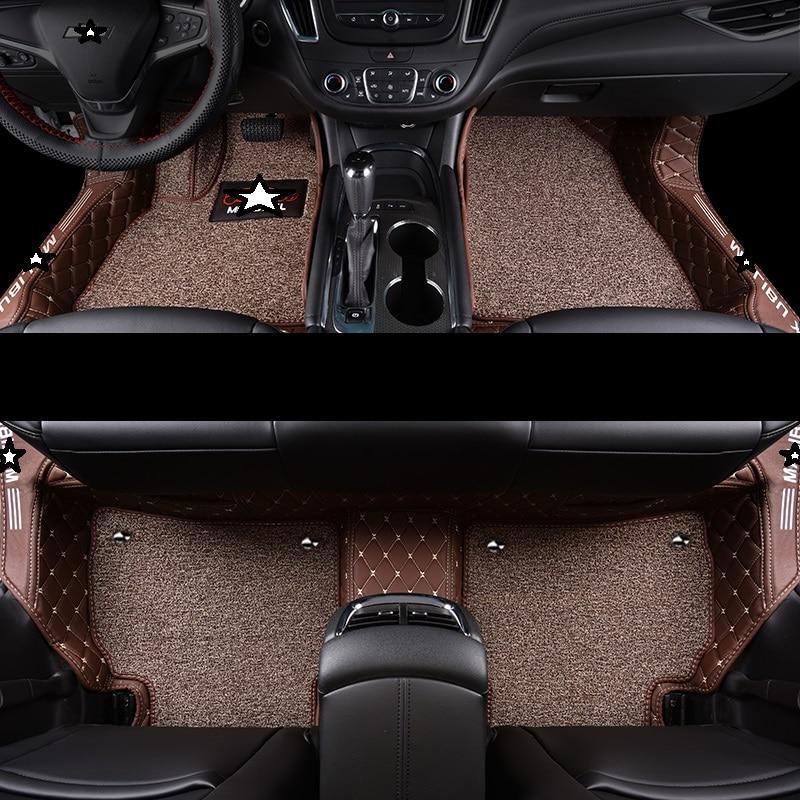 Decorative Protector Decoration Automovil Interior Modified Modification Accessories Carpet Car Floor Mats For Chevrolet Equinox Interior Accessories