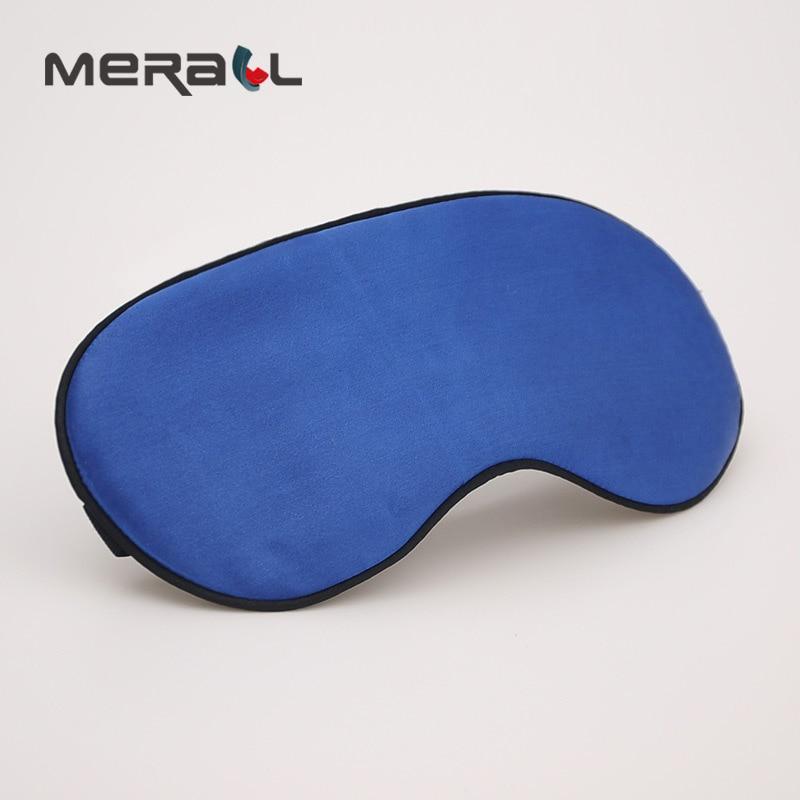 Silk Shading Sleep Eye Mask Adjustbale Bandage On Eyes For