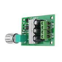 CLAITE 1206B 3A PWM DC Motor Speed Controller 6V/12V/24V Speed Regulating Switch Electronic Governor Dimmer NEW(China)