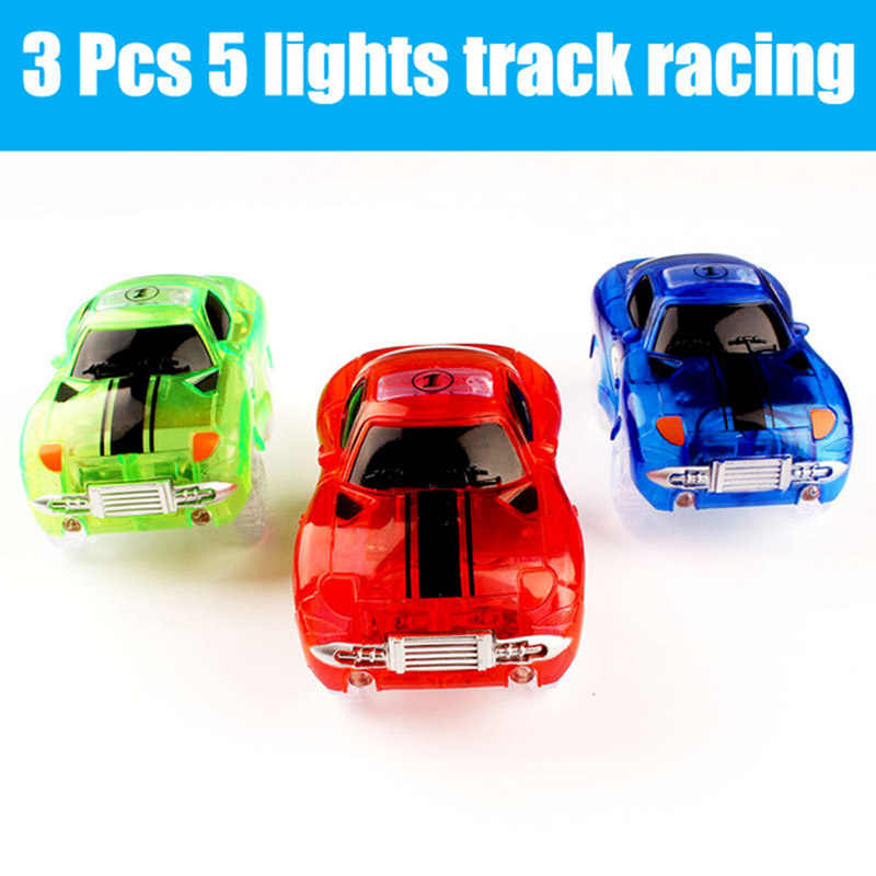 Hot Sale Blue Car Mini Electronics Cars 5 LED Light For Childs Birthday Gifts Toys