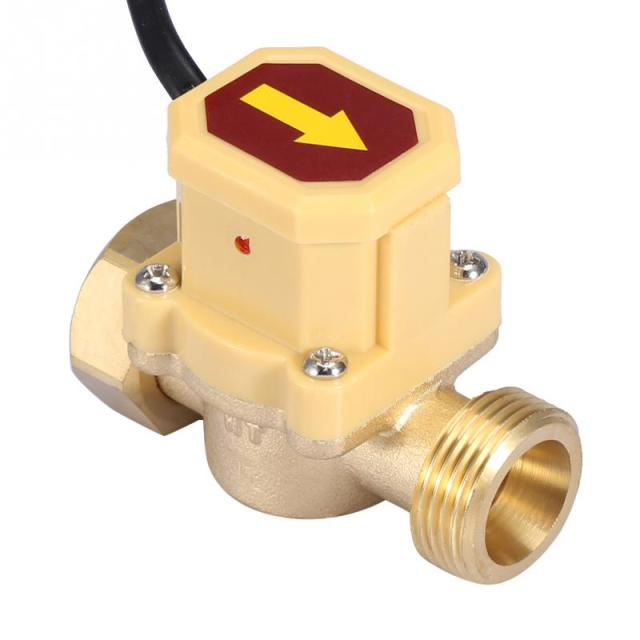 US $9 29 35% OFF|220V Adjustable Flow Sensor Pressure Automatic Control  Switch G3/4 G3/4 Thread Water Pump Flow Switch flowswitch interruptor-in